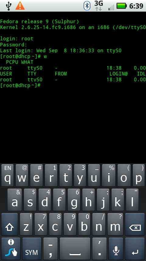 Bluetooth Terminal Emulator- screenshot