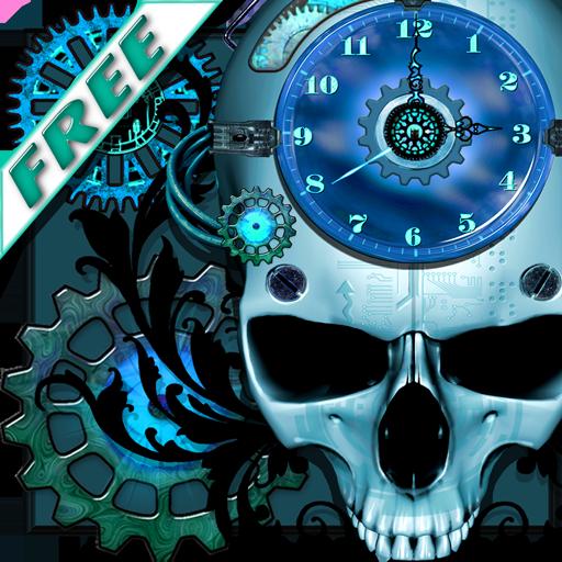 Steampunk Clock Free Wallpaper
