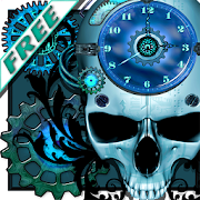 Steampunk Clock Free Wallpaper