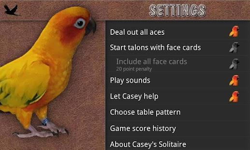 Casey's Solitaire- screenshot thumbnail
