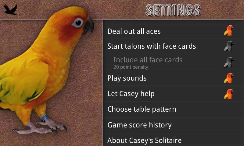 Casey's Solitaire- screenshot