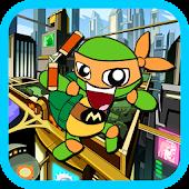 Ninja Boy Turtle Jump