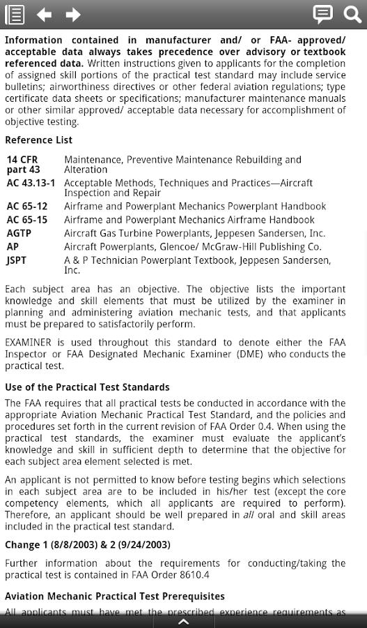 Aircraft Mechanic essay editor app
