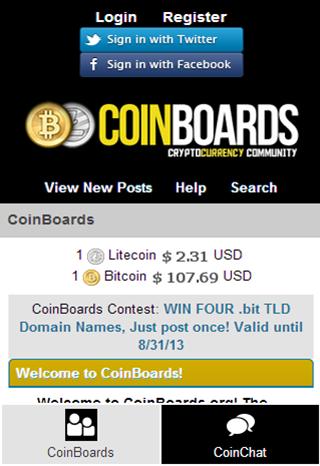 CoinBoards Bitcoin Forums