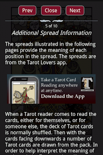 Tarot Card Combinations- screenshot thumbnail