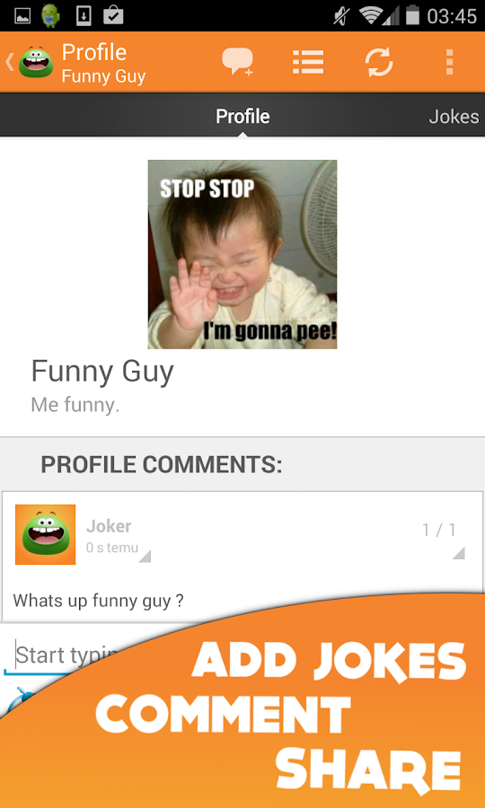 Funny Jokes Live- screenshot