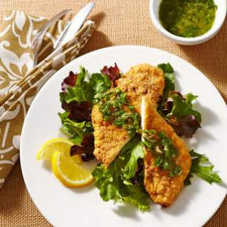 Crispy Chicken Schnitzel with Herb-Brown Butter Recipe