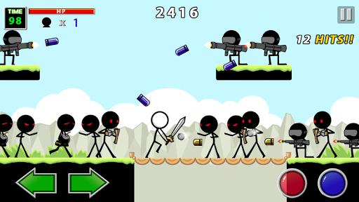 Cuộc chiến không cân sức trong game Stick Knight