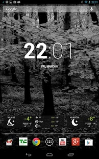 Free Dark Wood Theme HD - screenshot thumbnail