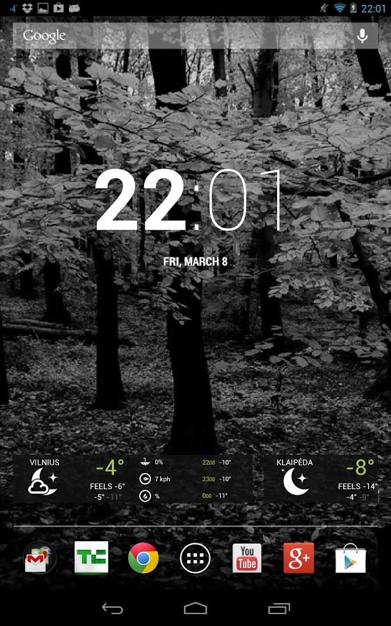 Free Dark Wood Theme HD- screenshot