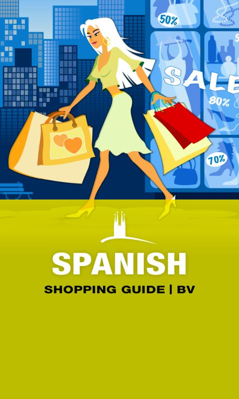 SPANISH Shopping Guide | BV– skärmdump
