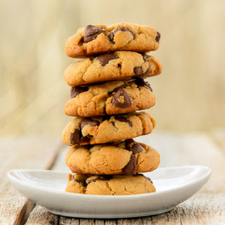 Caramel Chocolate Chip Cashew Butter Cookies