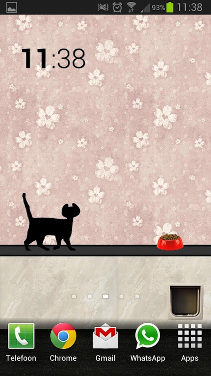 Animated Cat Live Wallpaper Android Apps Appagg