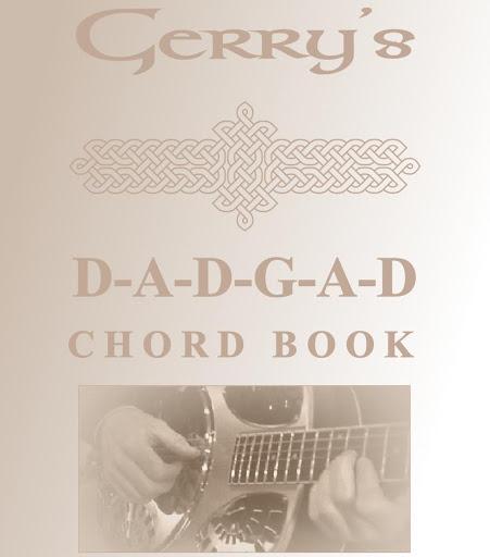 Gerrys DADGAD Chord Book