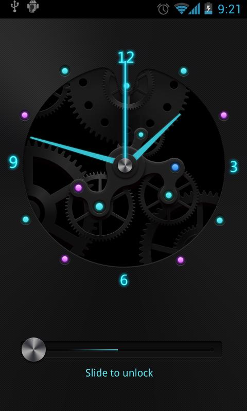 Wheel GO Locker Theme - screenshot