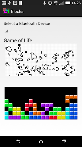 Blocks and Game of Life for CM
