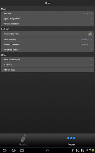 Universal TV Remote-ZaZa Remote 3.9.5 screenshots 13