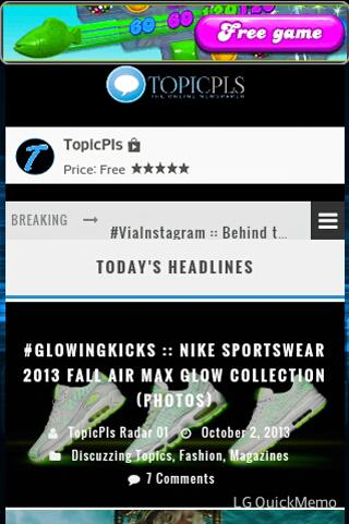 TopicPls - screenshot