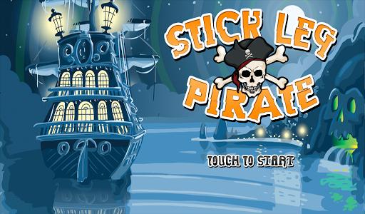 Stick Leg Pirate