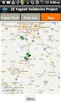 Screenshot of geoAMPS