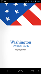 Washington Savings Bank - screenshot thumbnail