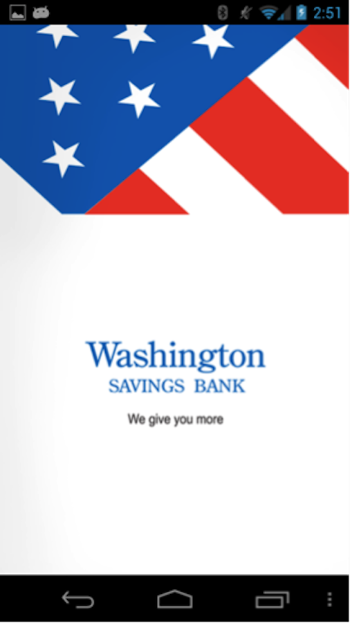 Washington Savings Bank - screenshot