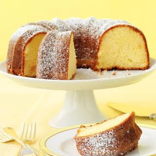 Lemon-Ginger Bundt Cake.