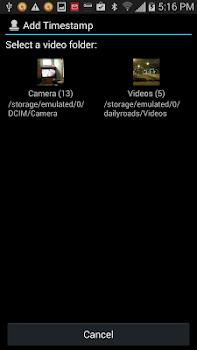 Video Timestamp Add-on