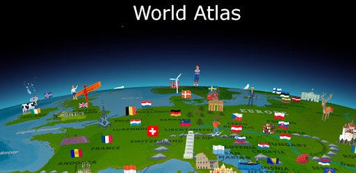 World map atlas 2018 apps on google play gumiabroncs Image collections