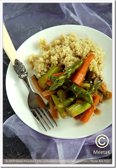 Quinoa Root Veggies (02) by MeetaK