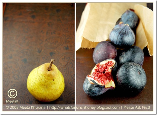 Fig Pear Diptych by MeetaK