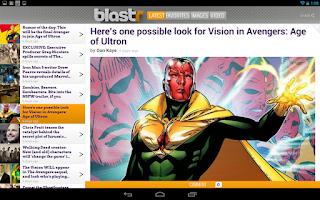 Screenshot of Blastr