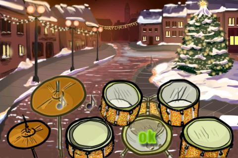 Hit the Drums Christmas - screenshot