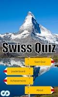 Screenshot of Swiss Quiz