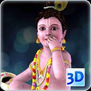 3d Little Krishna Live Wallpaper 61 Android Apk Free Download