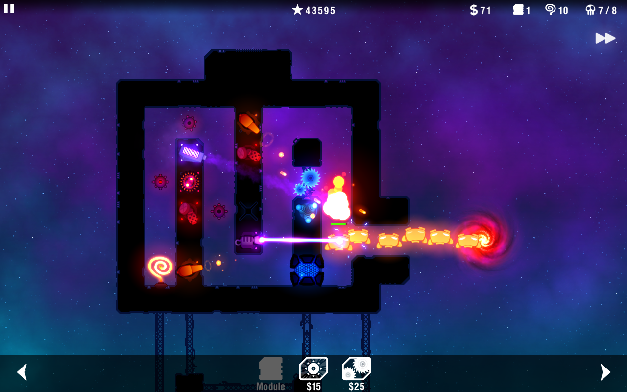 Radiant Defense - screenshot