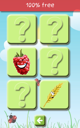 Match up Fruits & Vegetables screenshot