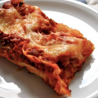 Gualu's Lasagna.