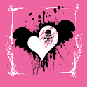 Girl Skull Theme HD logo