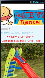 Smarties Toys Sewa Mainan - screenshot thumbnail