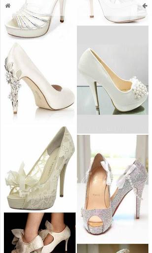 婚禮鞋平底鞋