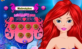 Screenshot of Charming Mermaid Makeover
