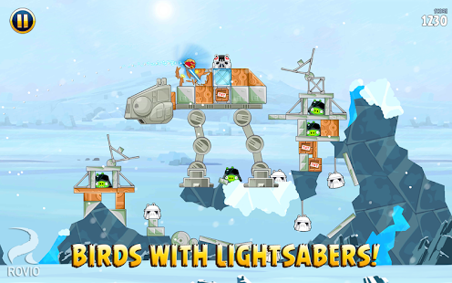 Angry Birds Star Wars HD- screenshot thumbnail