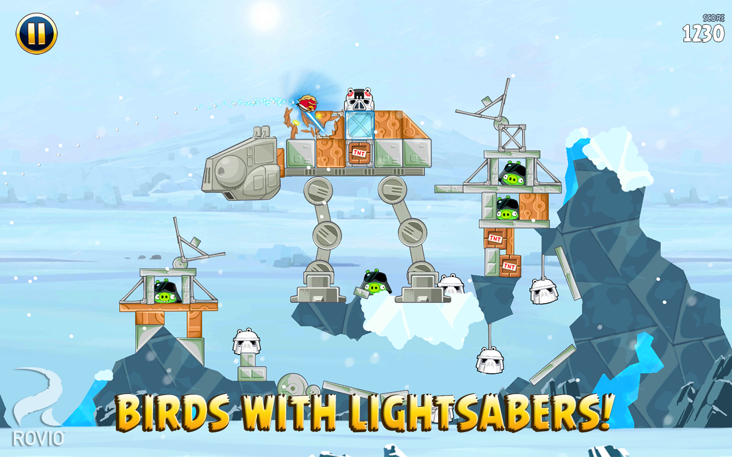 Angry Birds Star Wars HD screenshot #7