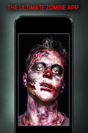 ゾンビ顔変身 ZombieFaced Booth