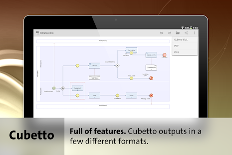 Cubetto - BPMN, UML, Flowchart- screenshot thumbnail