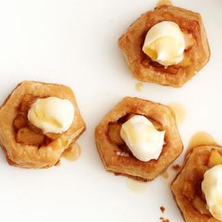 Salted Caramel-Apple Tartlets