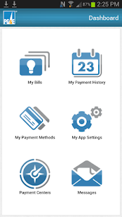 PG&E Mobile Bill Pay- screenshot thumbnail