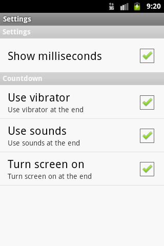 Χρονόμετρο - Stopwatch - screenshot