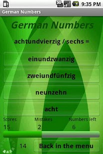 Learn German Numbers- screenshot thumbnail